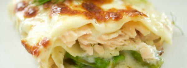 May Recipe: Salmon and Asparagus Lasagne