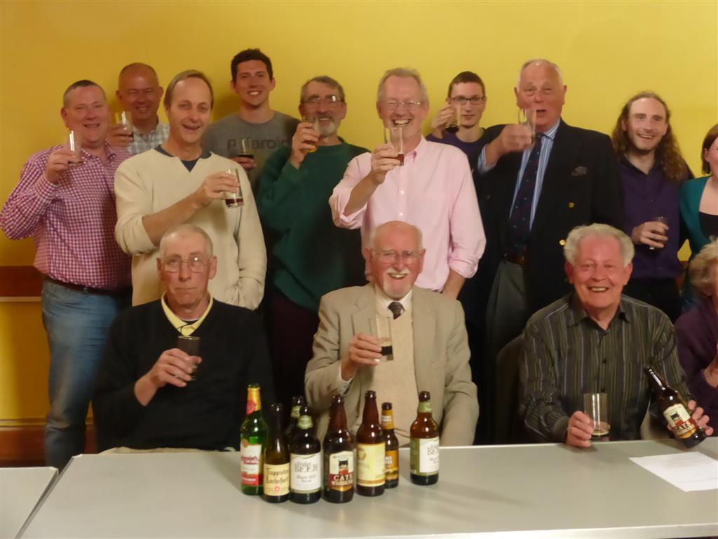 LFG Appreciating Great Beer 260414 Derek Orford and Attendees P1010127