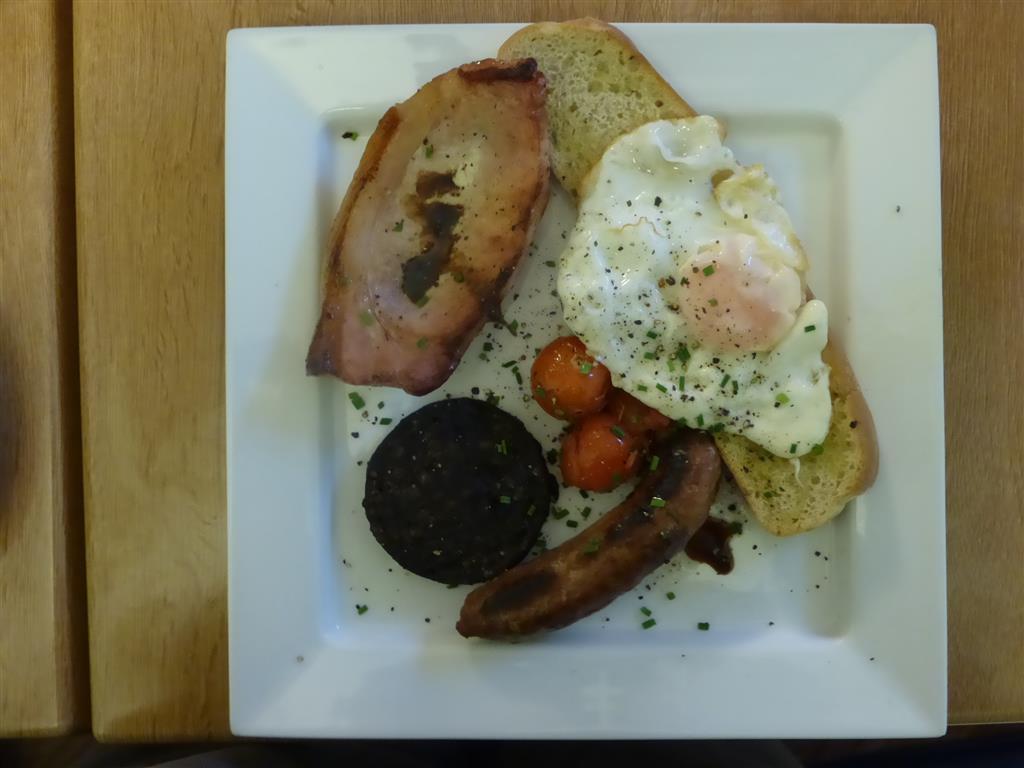 Market House Cafe - Breakfast BruschettaP1000687
