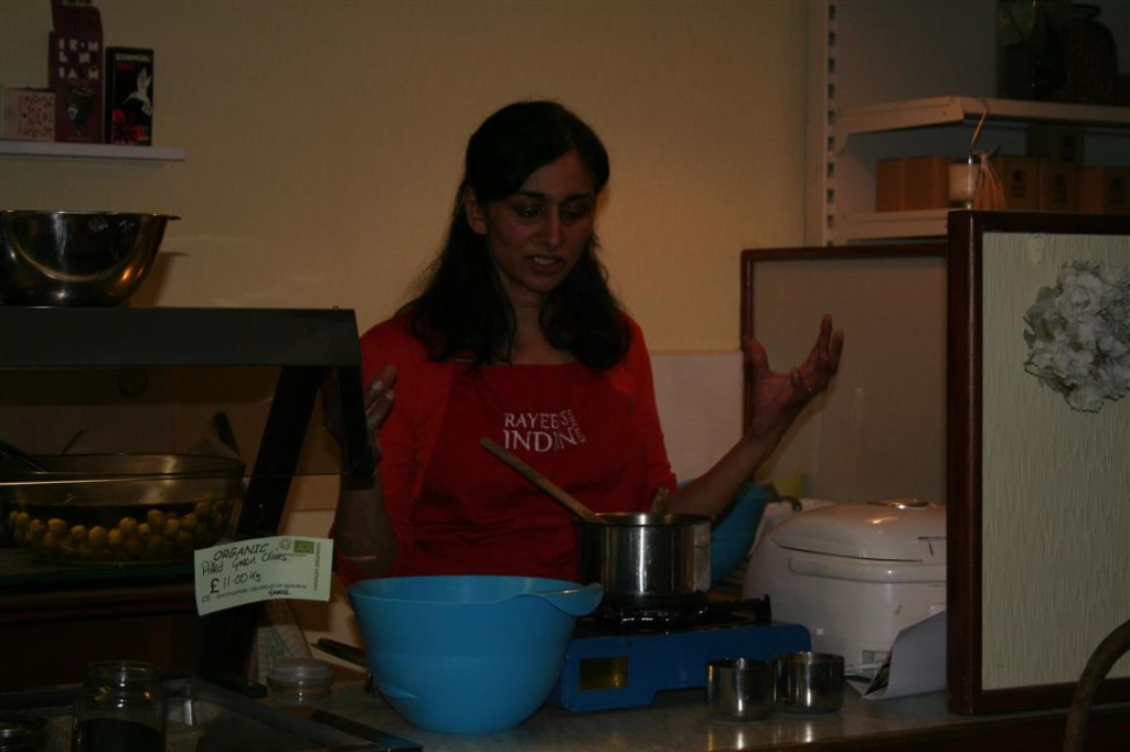 Rayeesa Cooking Onions