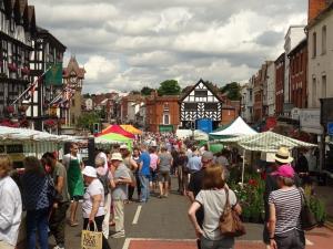 The market comes to Ledbury