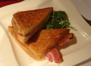 Eggy Bread Sandwich at the Feathers